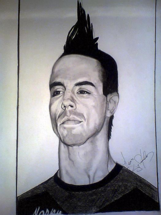 Anthony Kiedis by labellavitaaa